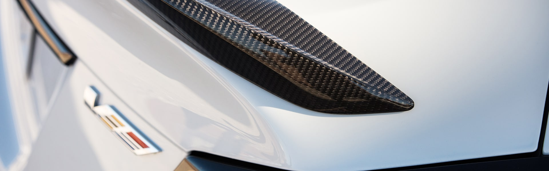 2022 Cadillac CT4-V Blackwing spoiler