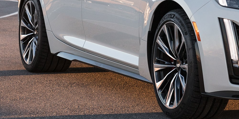 2022 Cadillac CT4-V Blackwing magnesium wheels