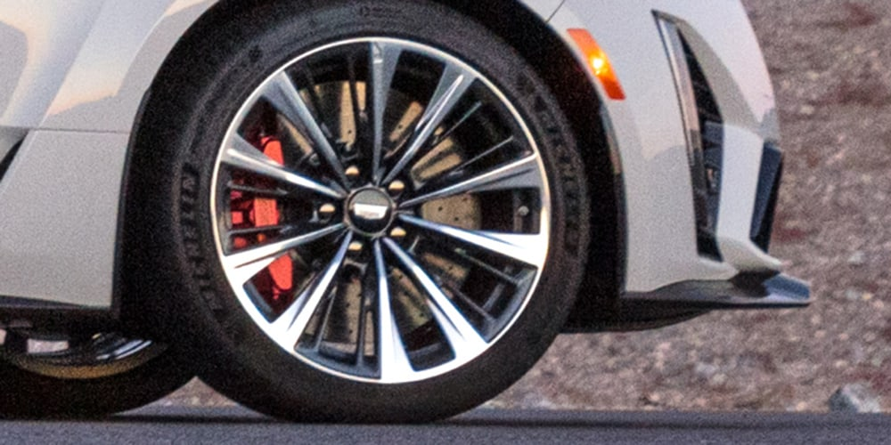 2022 Cadillac CT5-V Blackwing Brembo Brakes
