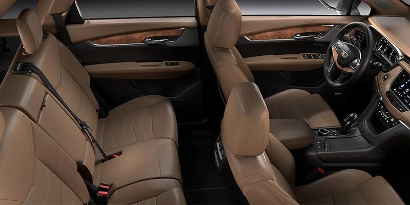 2021 Cadillac XT5 seating