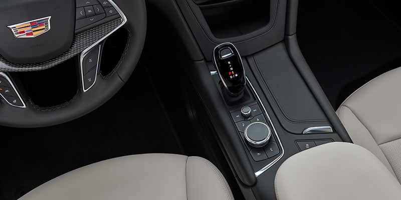 2021 Cadillac XT5 Precision Shift gear selector