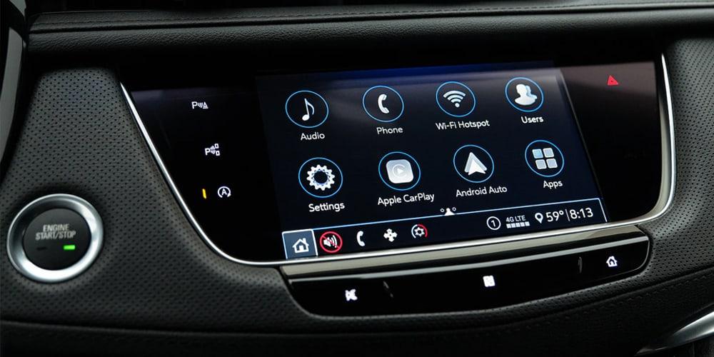 2021 Cadillac XT5 technology