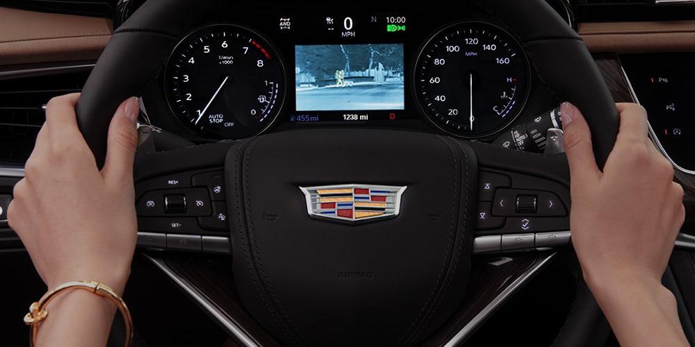 2021 Cadillac XT6 dash cluster