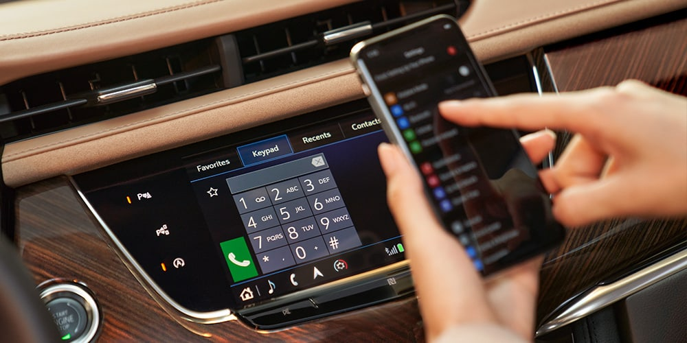 2021 Cadillac XT6 phone integration