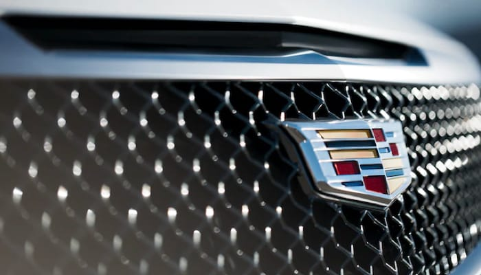 Cadillac front grill