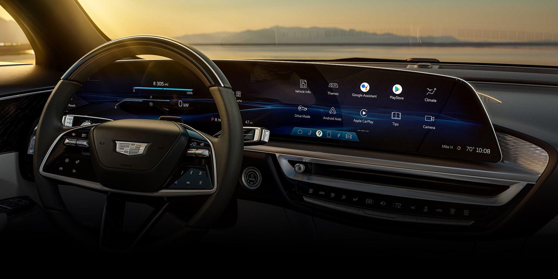"2023 Cadillac Lyriq 33"" Advanced LED Display"