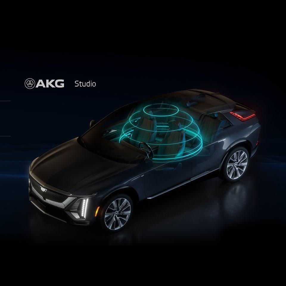 2023 Cadillac Lyriq AKG sound system
