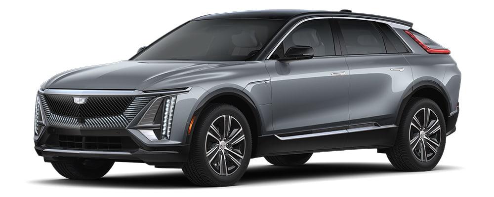 2023 Cadillac Lyriq in Satin Steel Metallic