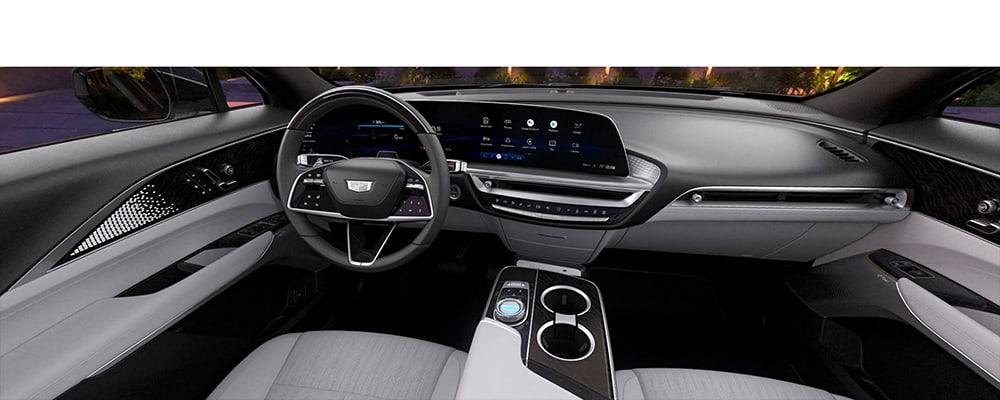 2023 Cadillac Lyriq Sky Cool Gray interior