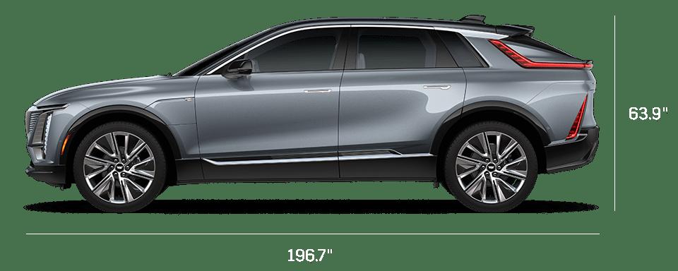 Cadillac Lyriq dimensions