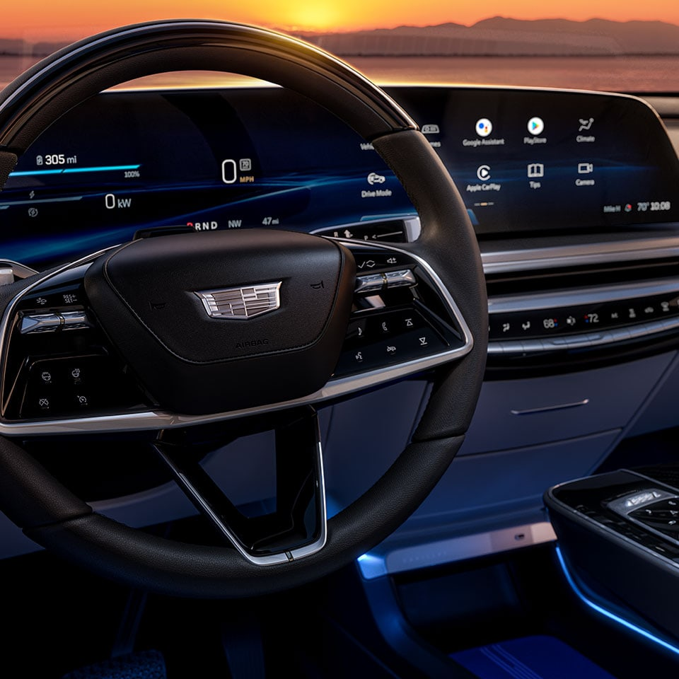 Cadillac Lyriq dashboard