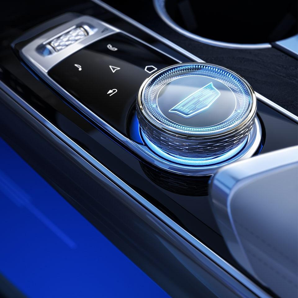 2023 Cadillac Lyriq interior embellishments