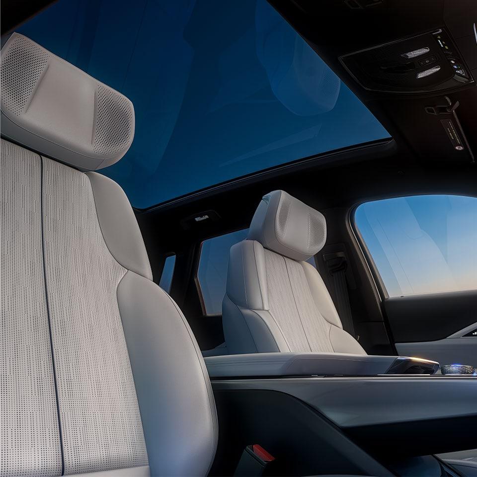 2023 Cadillac Lyriq seating architecture