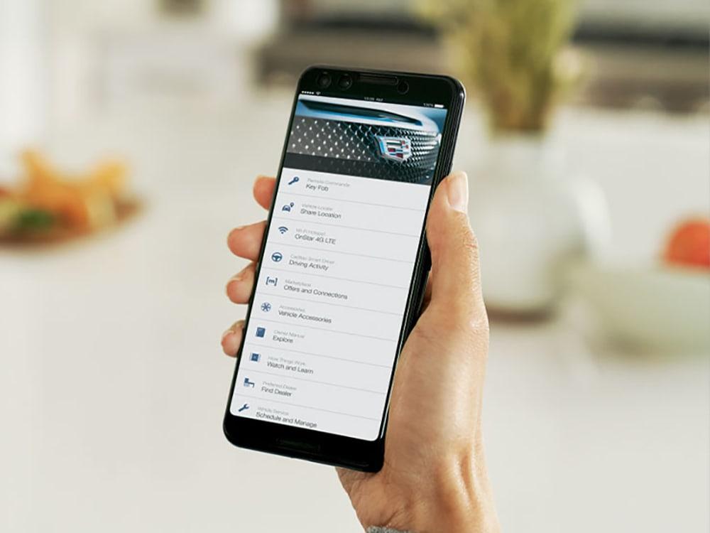 Cadillac smartphone app