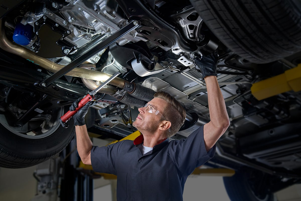Cadillac Mulit-Point Vehicle Inspection