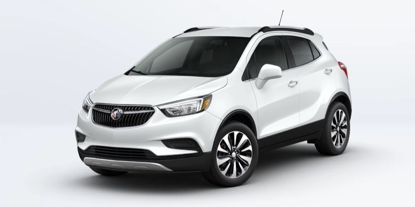 2022 Buick Encore in SUMMIT WHITE