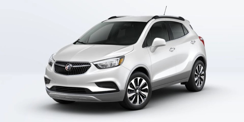 2022 Buick Encore in WHITE FROST TRICOAT
