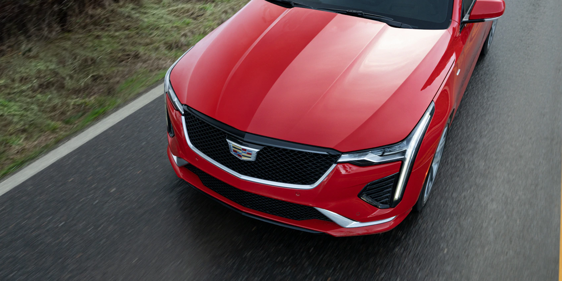 2021 Cadillac CT4 Front Angle View