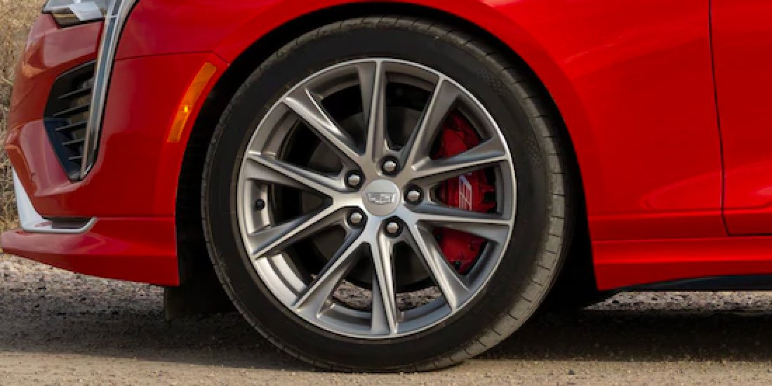 2021 Cadillac CT4's Wheel