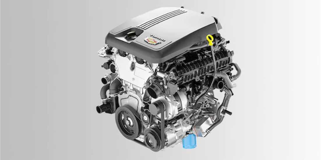 2021 Cadillac CT5 2.0L Turbocharged Engine