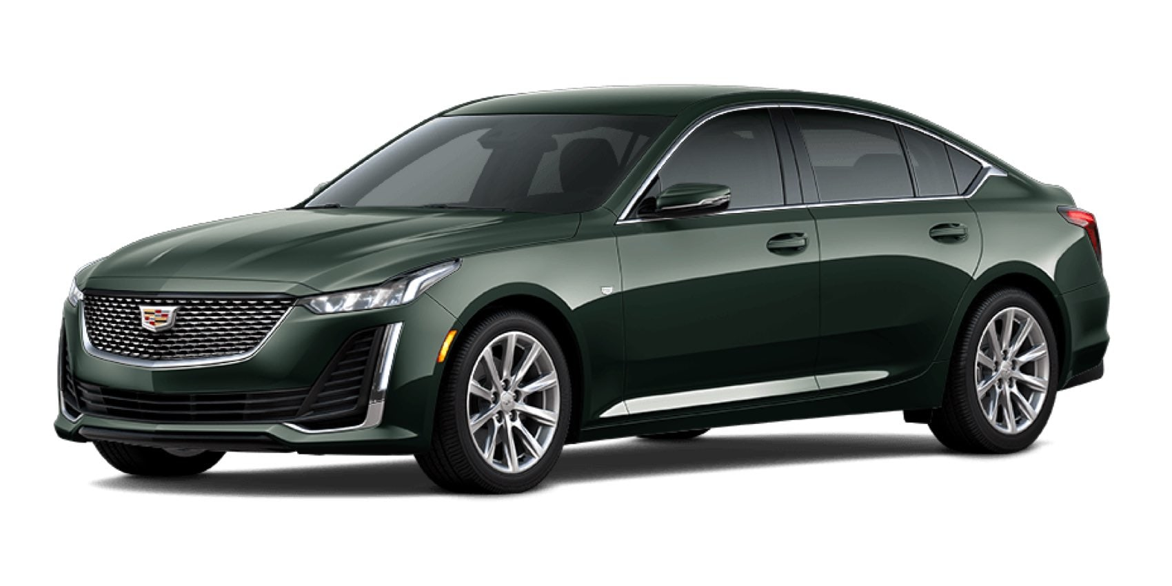 2021 Cadillac CT5 in Evergreen Metallic