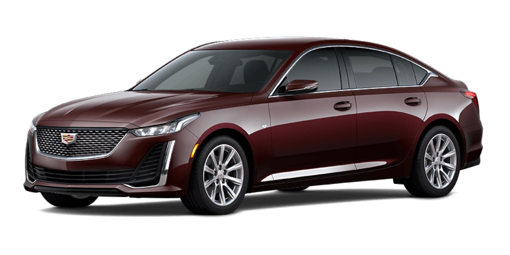2021 Cadillac CT5 in Garnet Metallic