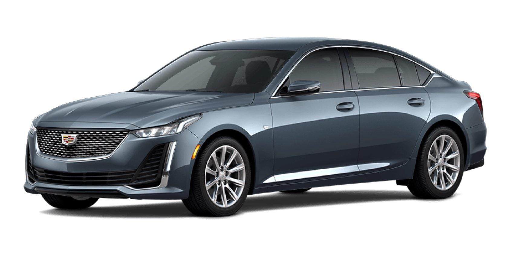 2021 Cadillac CT5 in Shadow Metallic