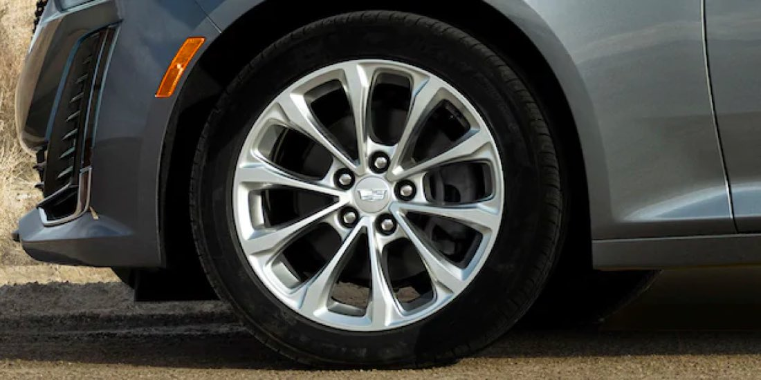 2021 Cadillac CT5 allow wheels