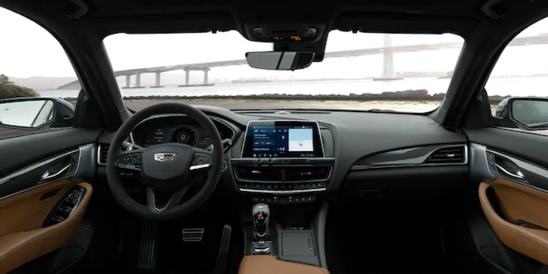 2021 Cadillac CT5 interior