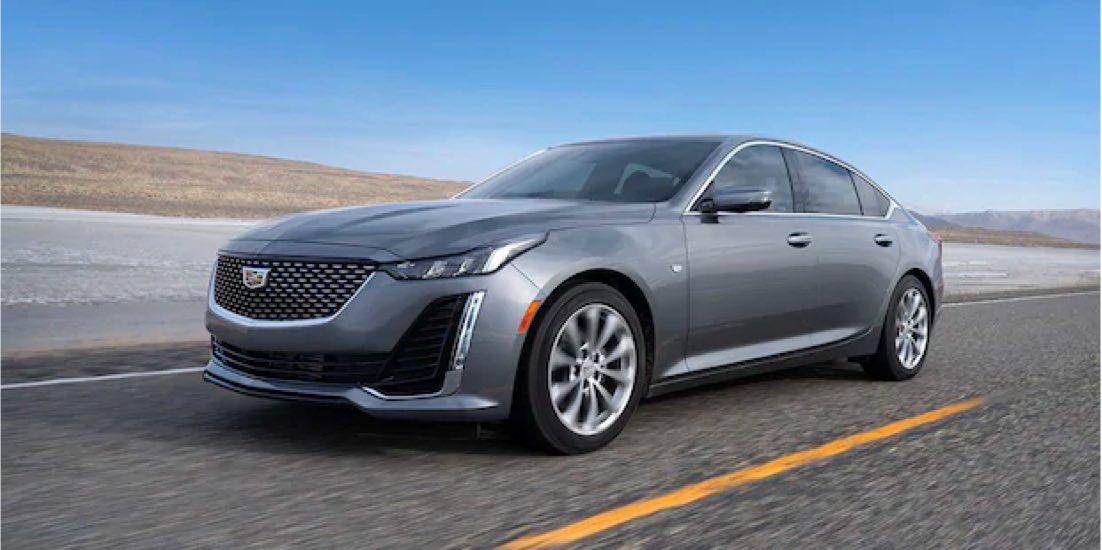 2021 Cadillac CT5 handling