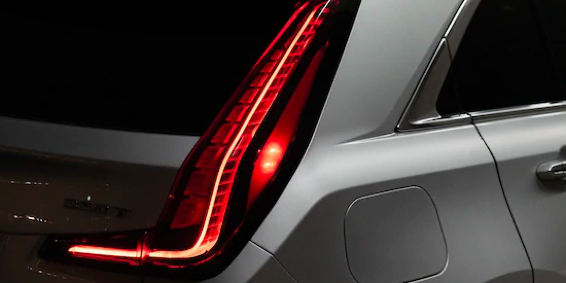 2021 Cadillac XT4's LED Taillamps