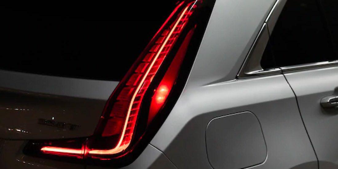 2021 Cadillac XT4's LED Taillamps