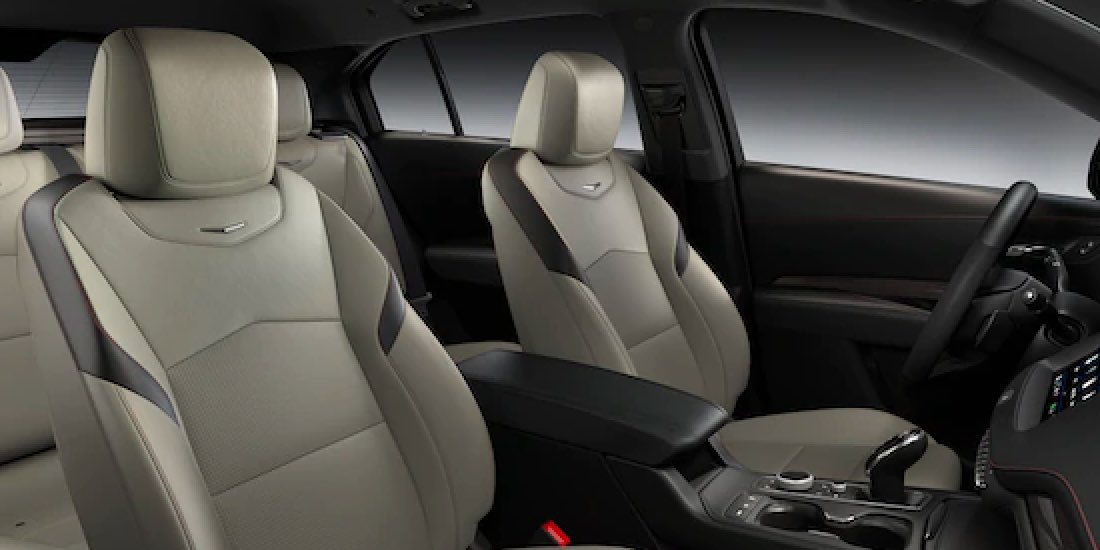 2021 Cadillac XT4's Front Lumbar Massaging Seats