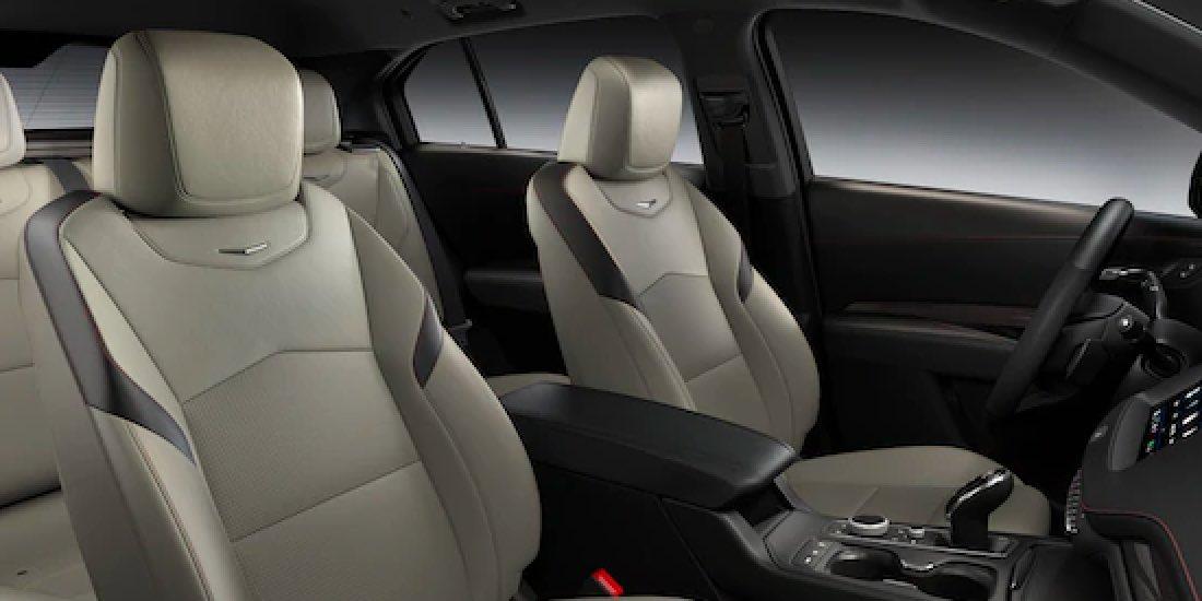 2021 Cadillac XT4's Front Lumbar Massaging Seats