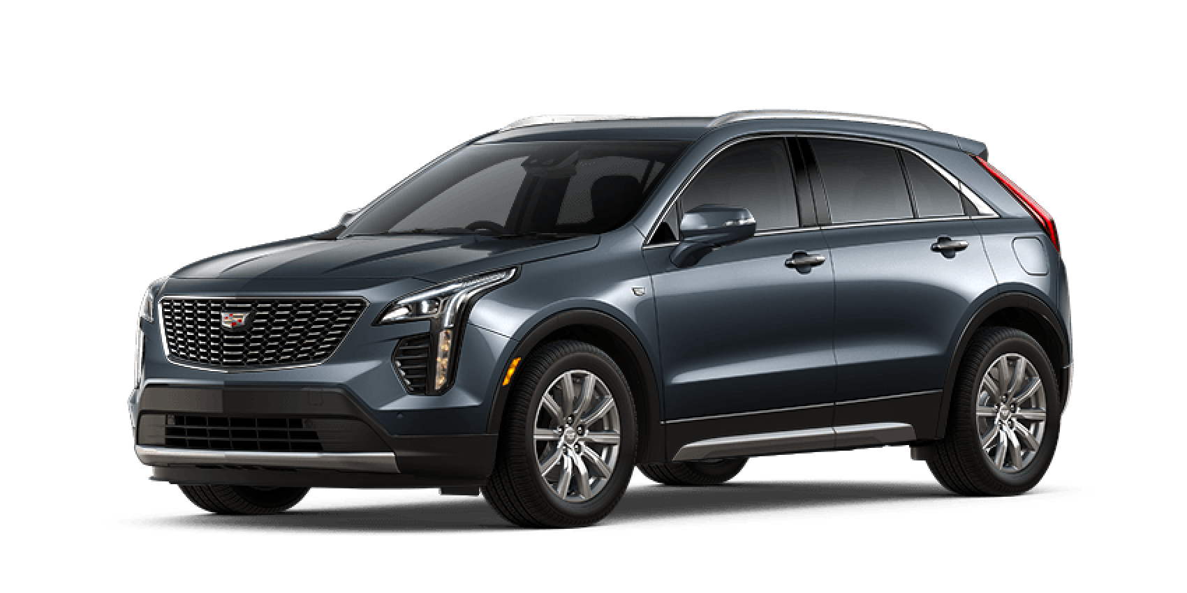 Shadow Metallic 2021 Cadillac XT4