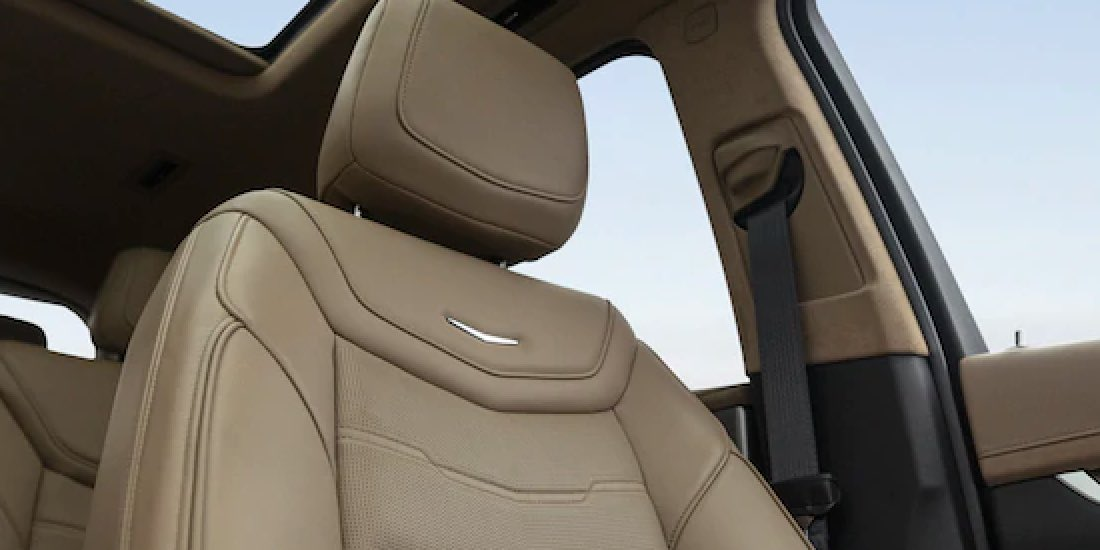 2021 Cadillac XT6 Close Up of Seat
