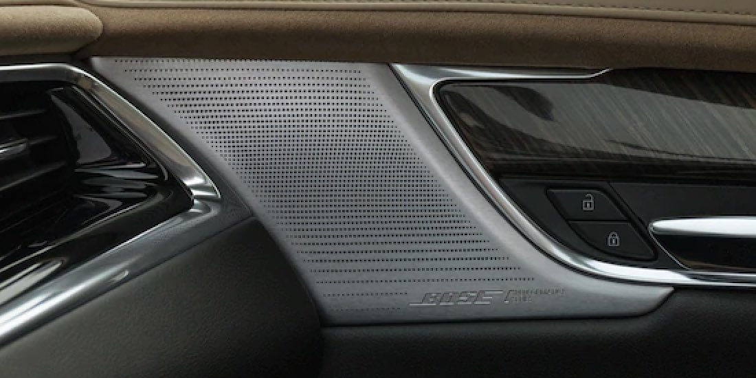 2021 Cadillac XT6's Close Up of Speakers
