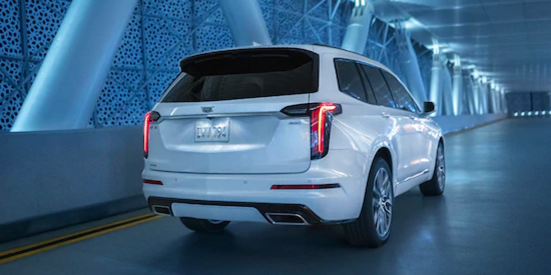 2021 Cadillac XT6 Rear View