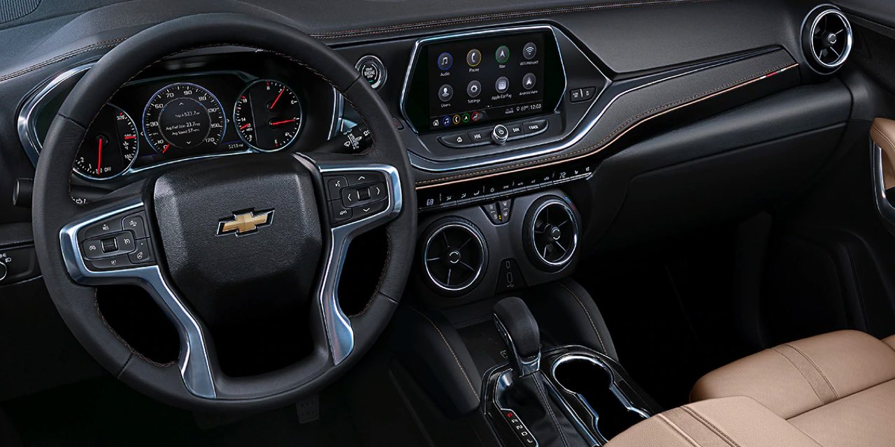 2021 Chevrolet Blazer Interior