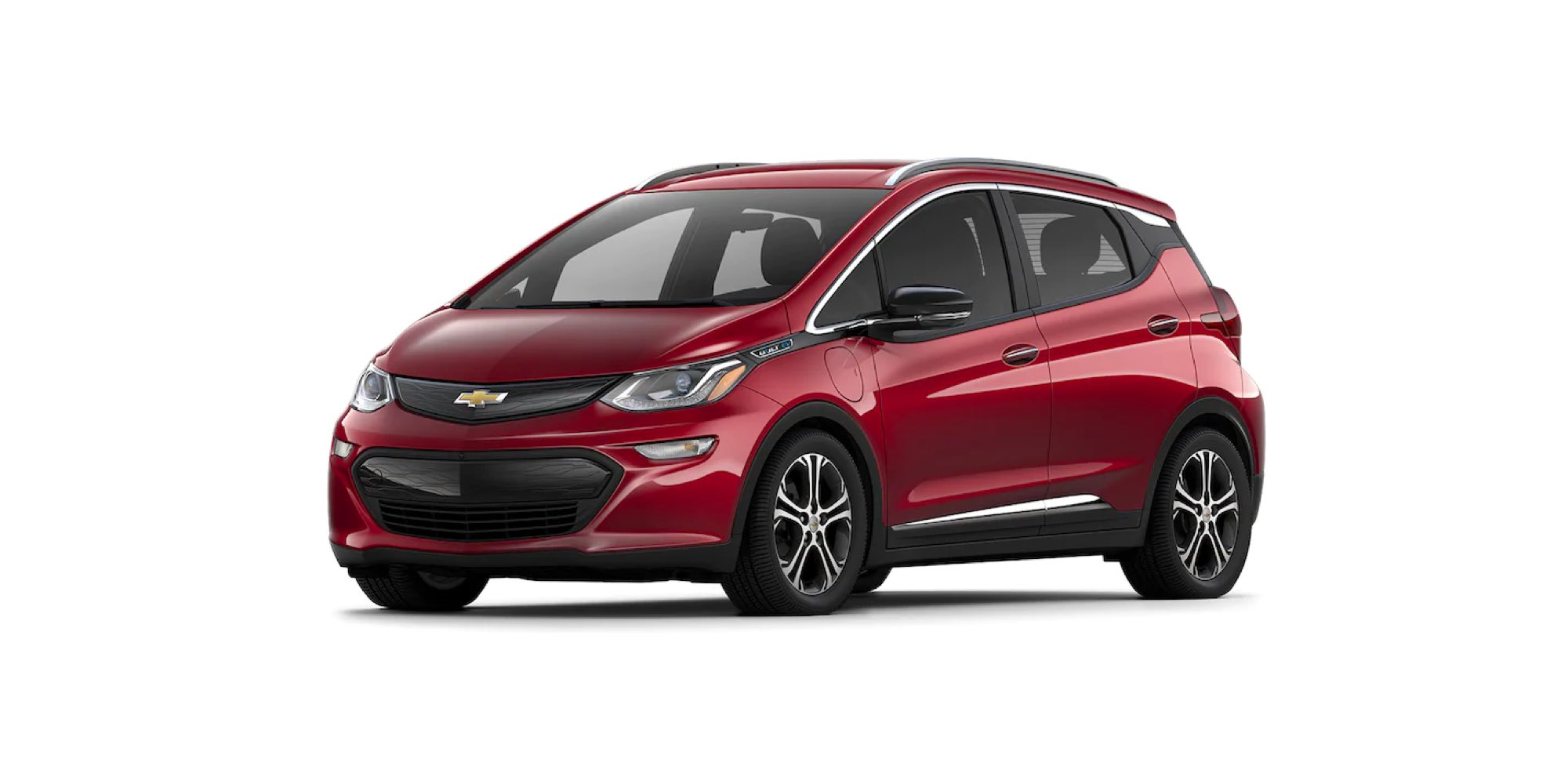 2021 Chevy Bolt in Cajun Red Tintcoat