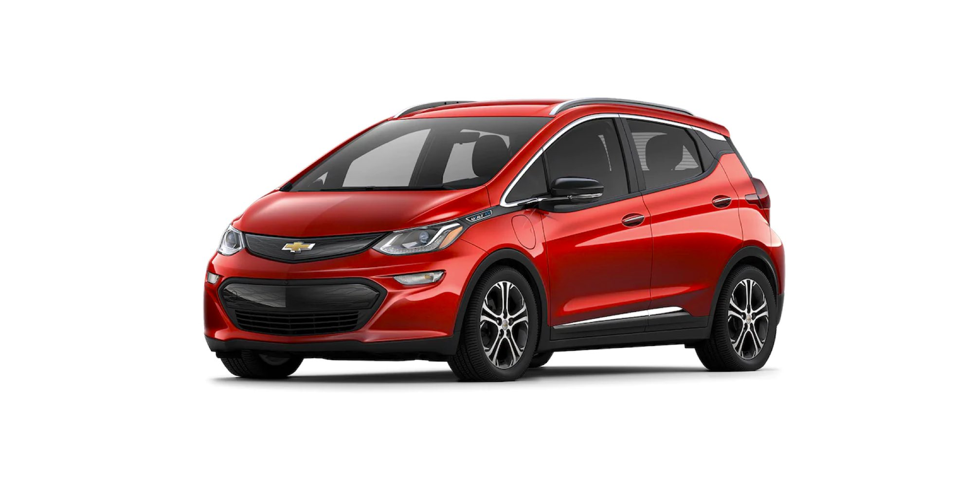2021 Chevy Bolt in Cayenne Orange Metallic