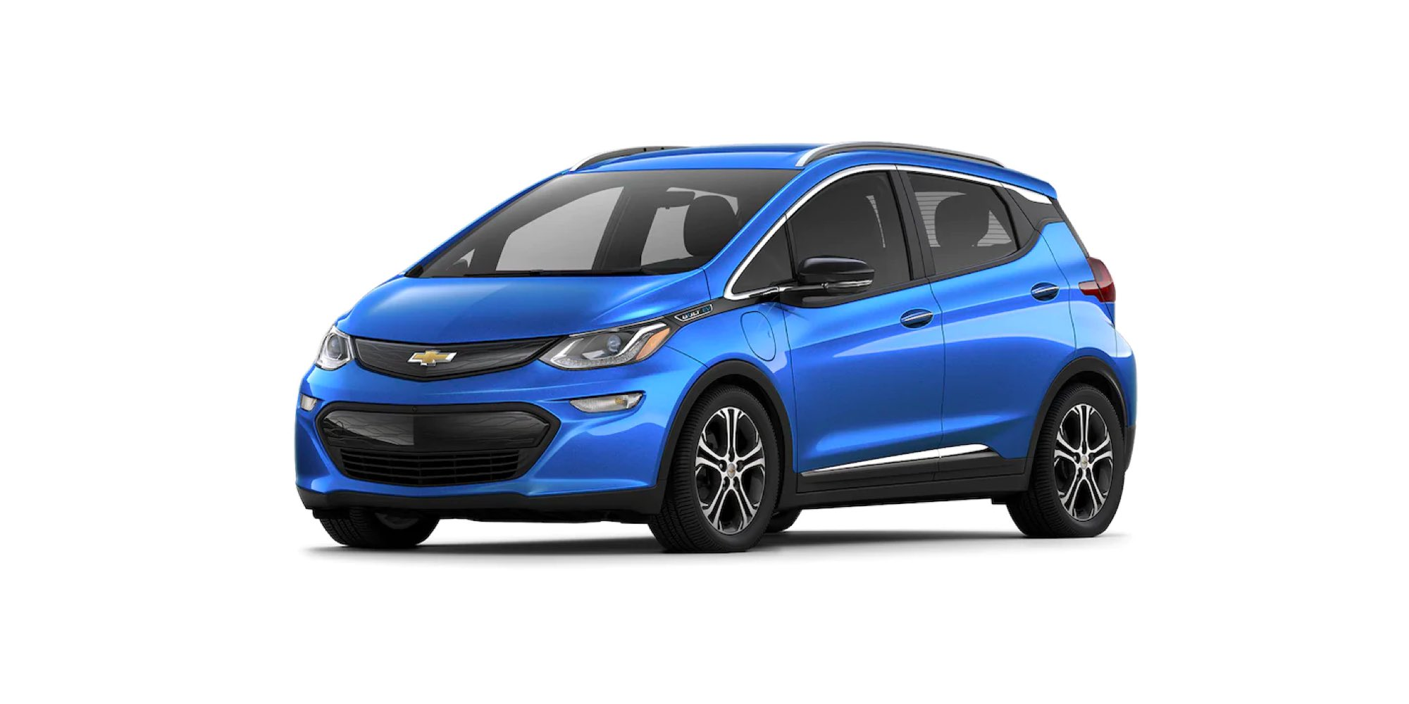 2021 Chevy Bolt EV in Kinetic Blue Metallic