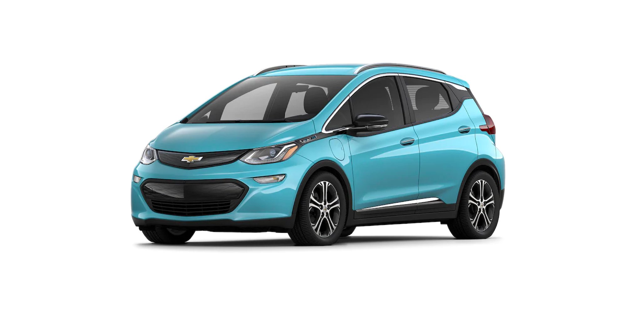 2021 Chevy Bolt EV in Oasis Blue