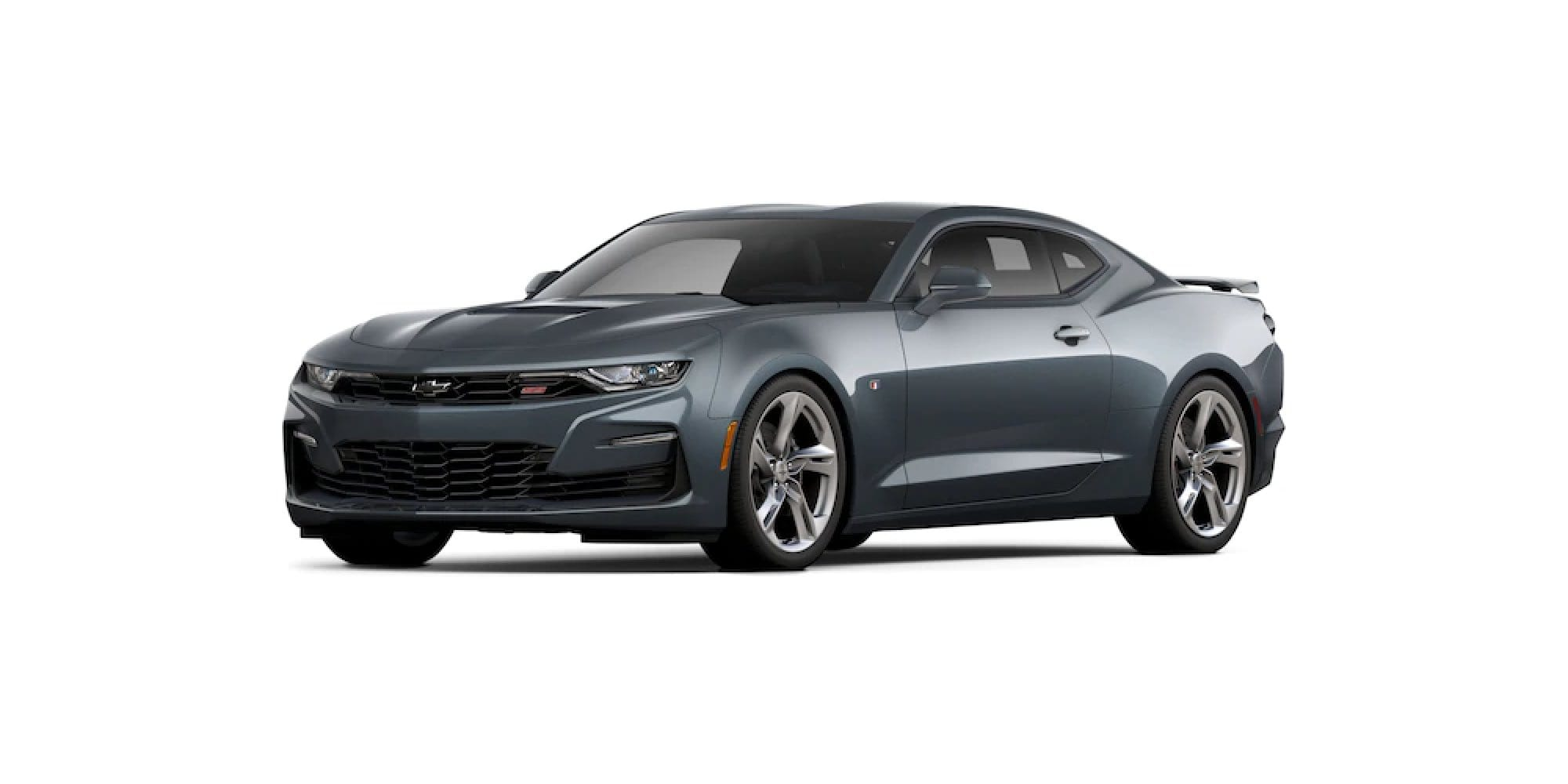 Shadow Gray Metallic Camaro