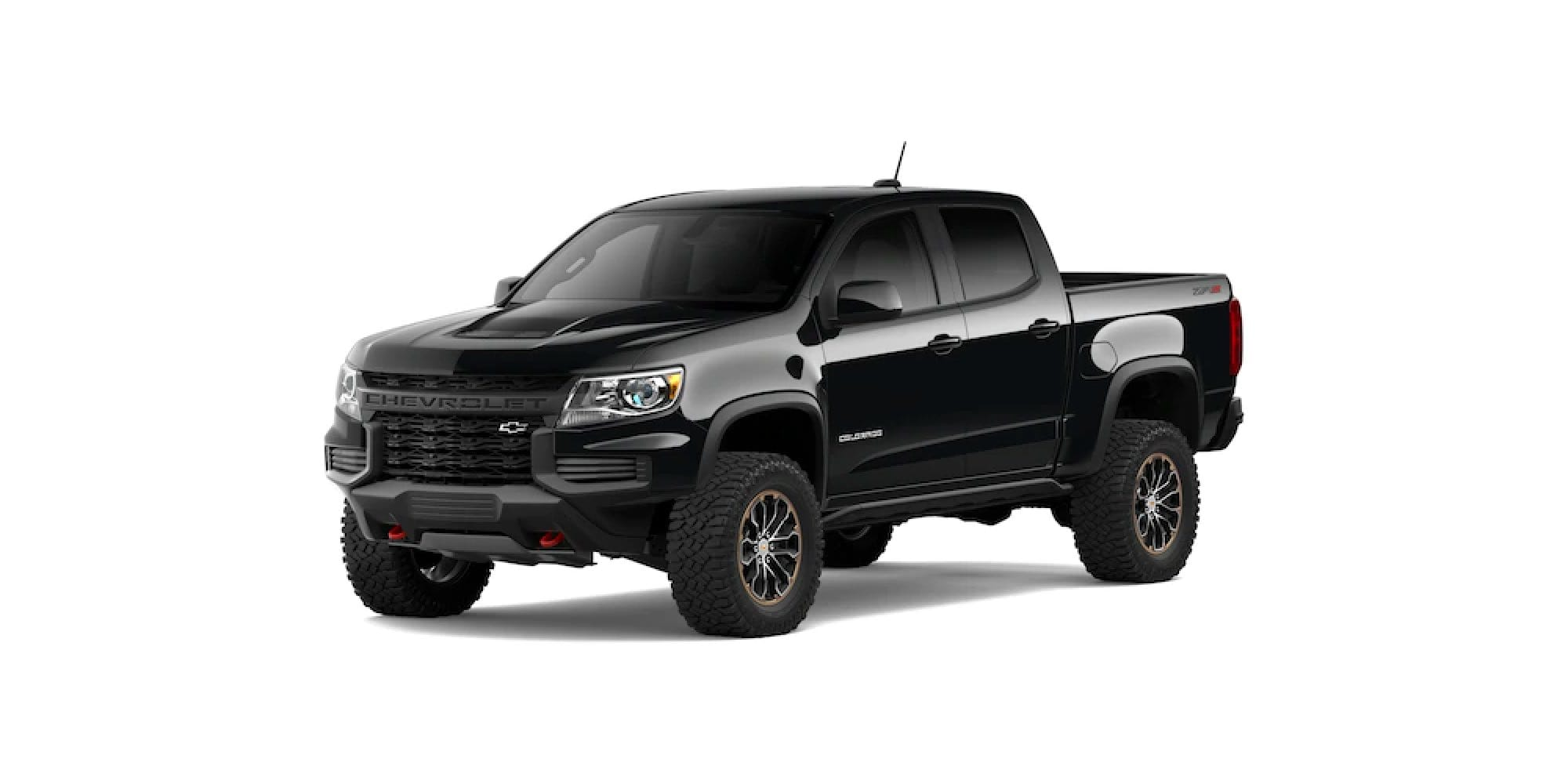 2021 Chevy Colorado in Black