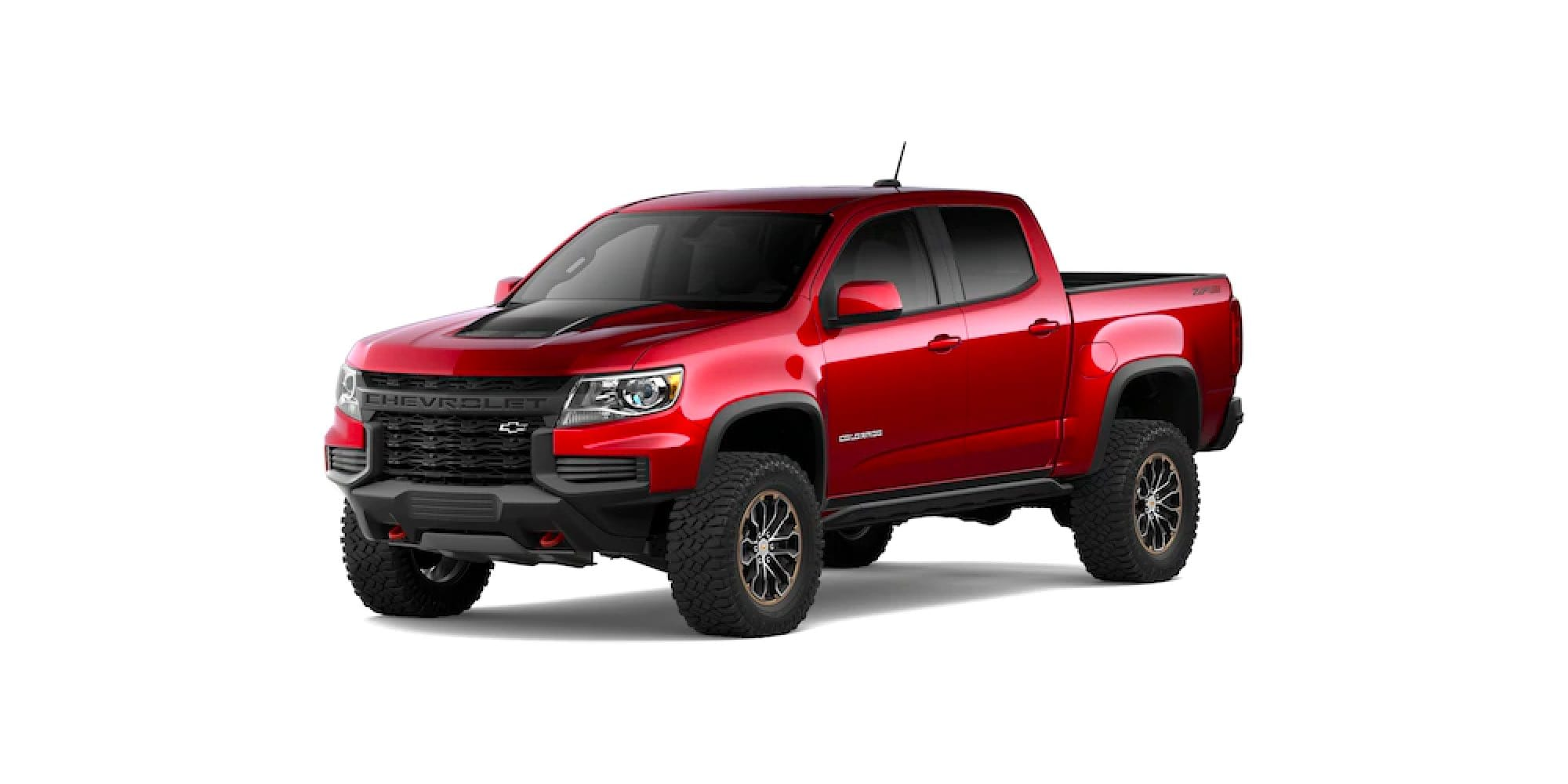 2021 Chevrolet Colorado in Cherry Red Tintcoat