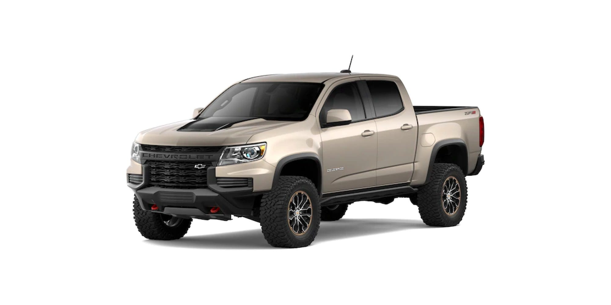 2021 Chevy Colorado in Sand Dune Metallic