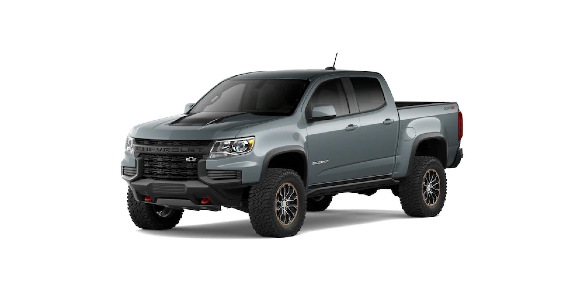 2021 Chevy Colorado in Satin Steel Metallic