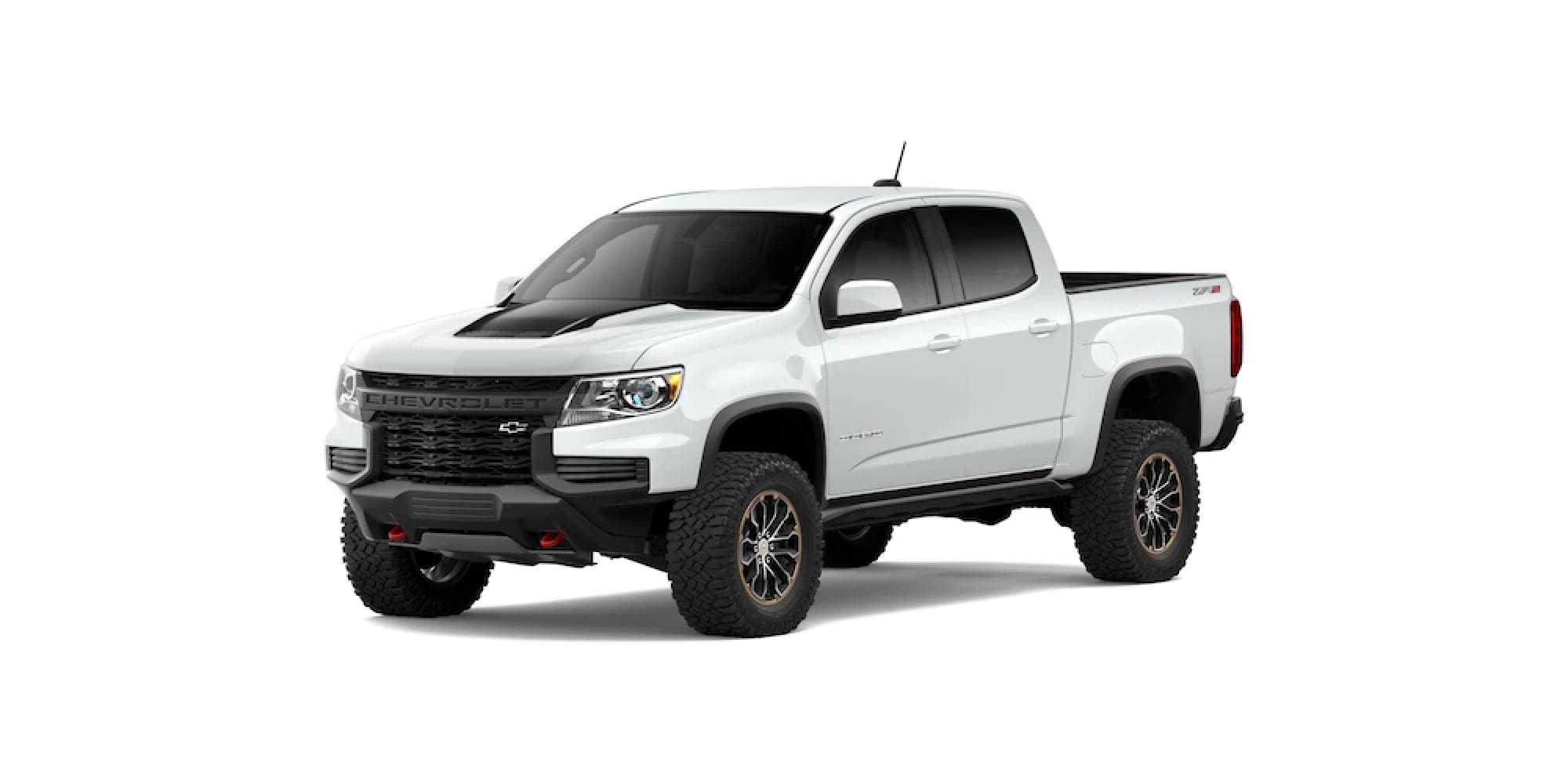 2021 Chevy Colorado in Summit White