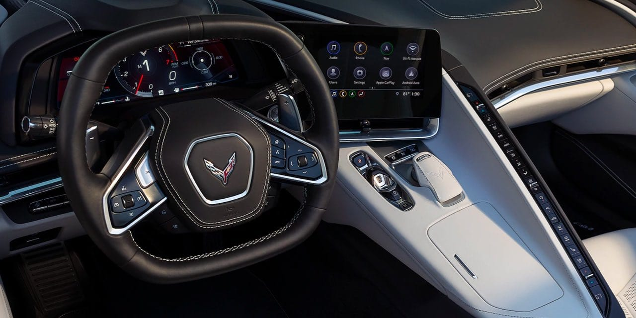 2021 Chevrolet Corvette Interior